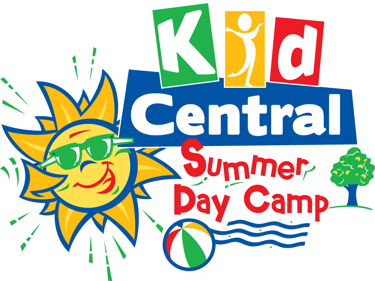 Kid Central Summer Camp Logo