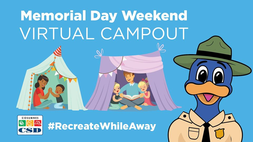 Memorial Day Weekend Virtual Camp Out