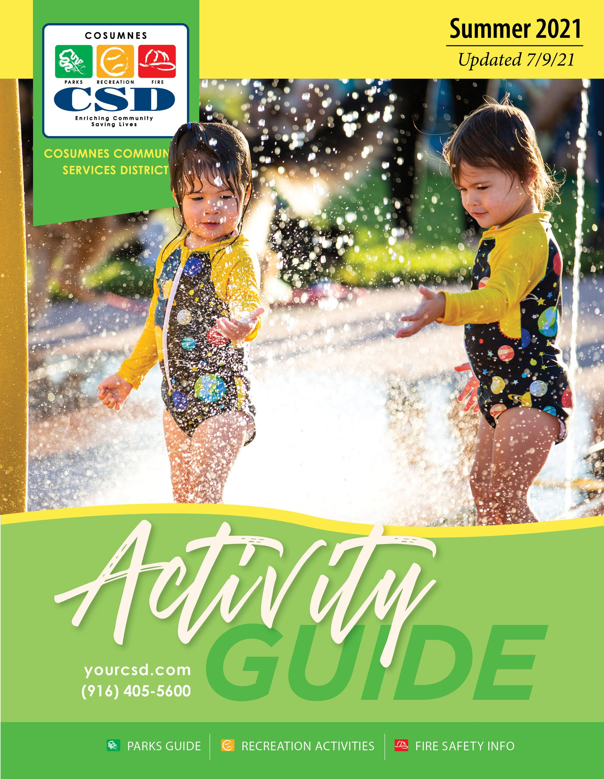 Activity Guide Cover. Updated February 25, 2021.
