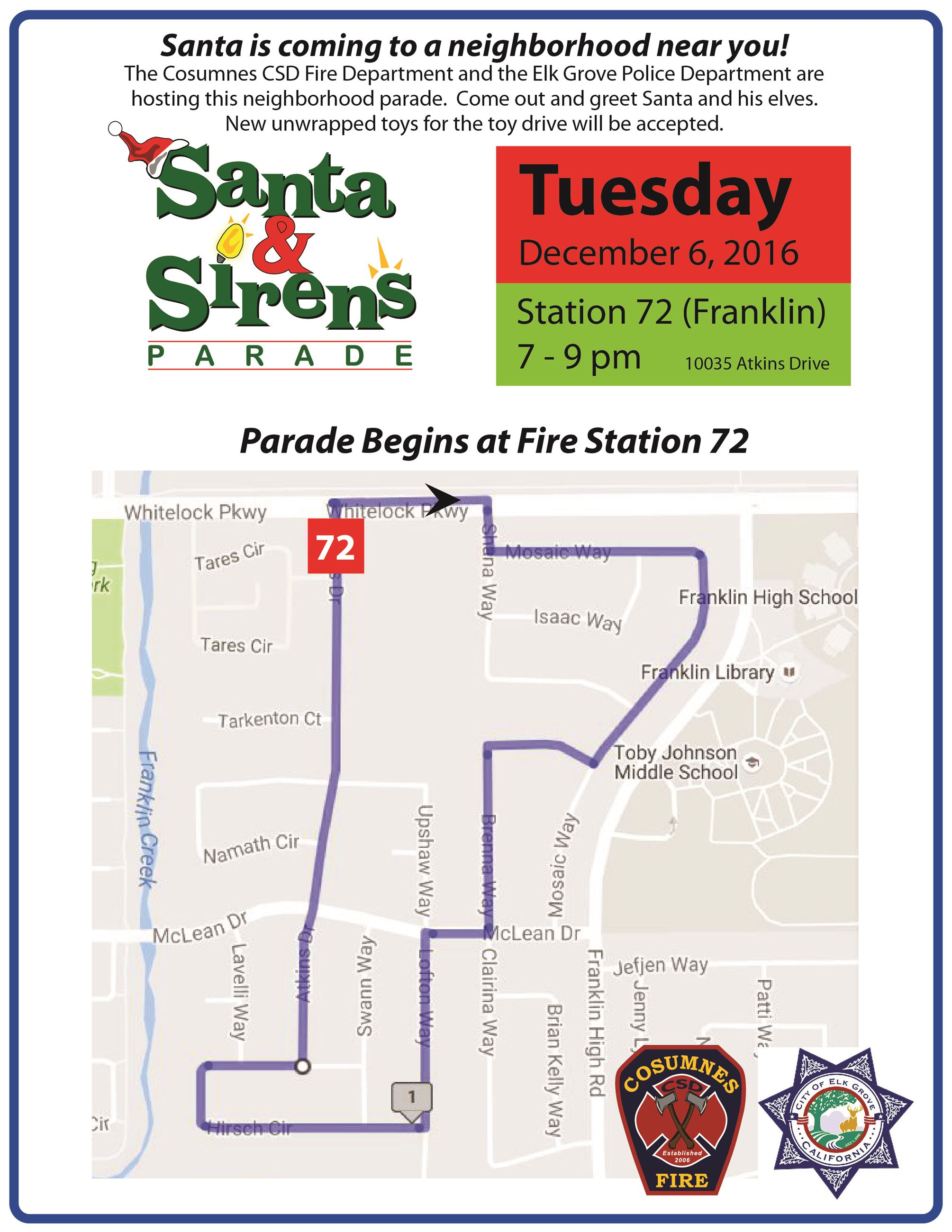 2016-station 72 parade route
