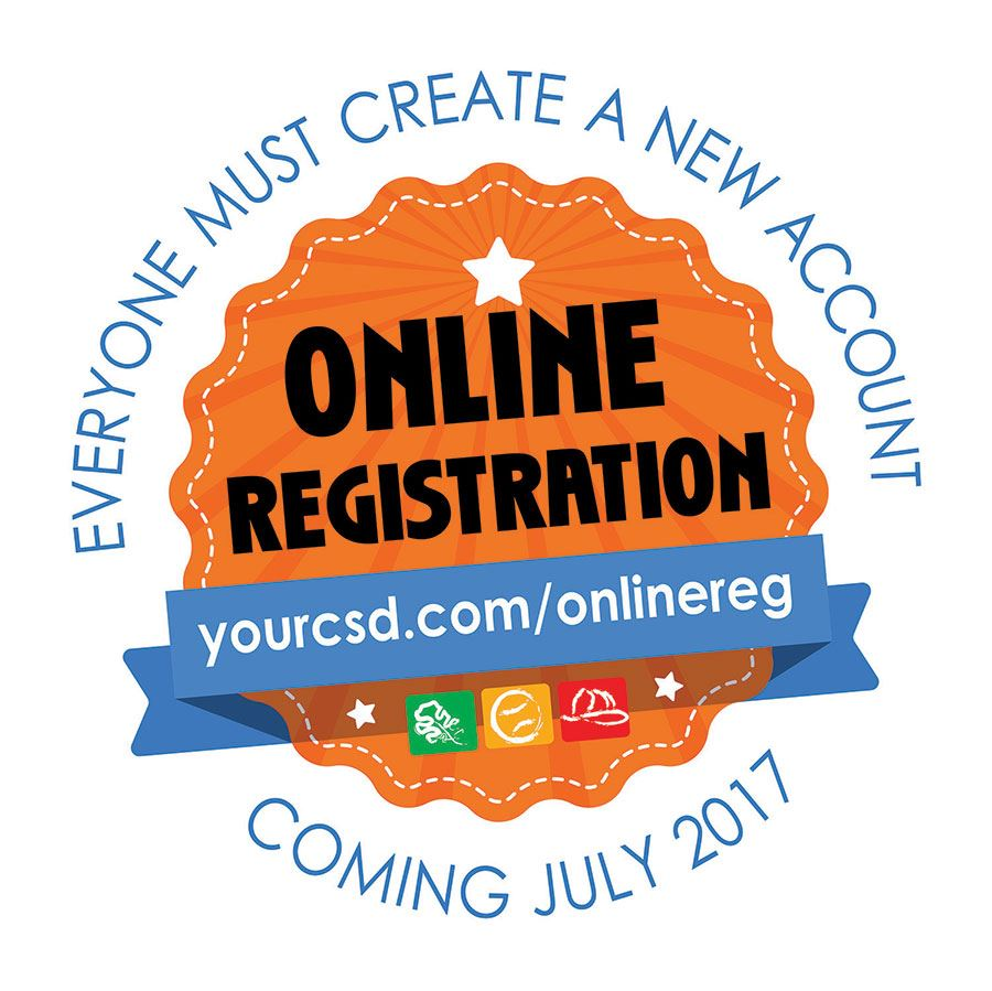 Cosumnes CSD has a new registration site.