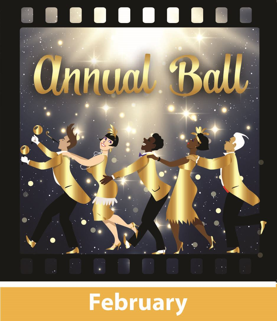 Annual Ball logo in February