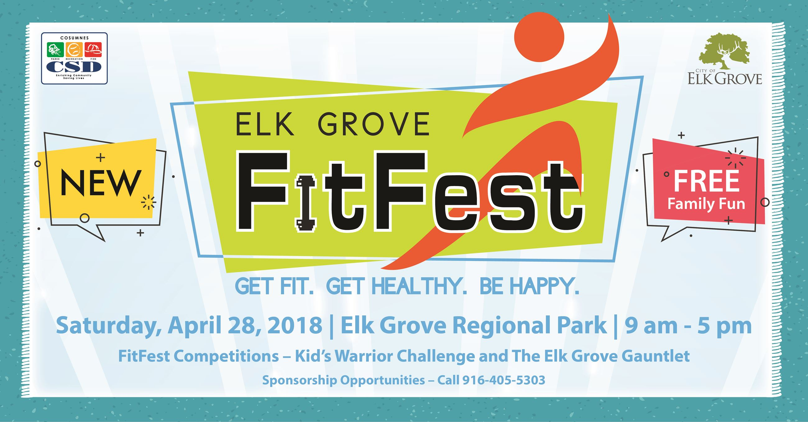 Elk Grove FitFest Ad