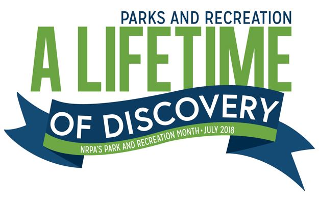 Park and Recreation Month 2018 Logo