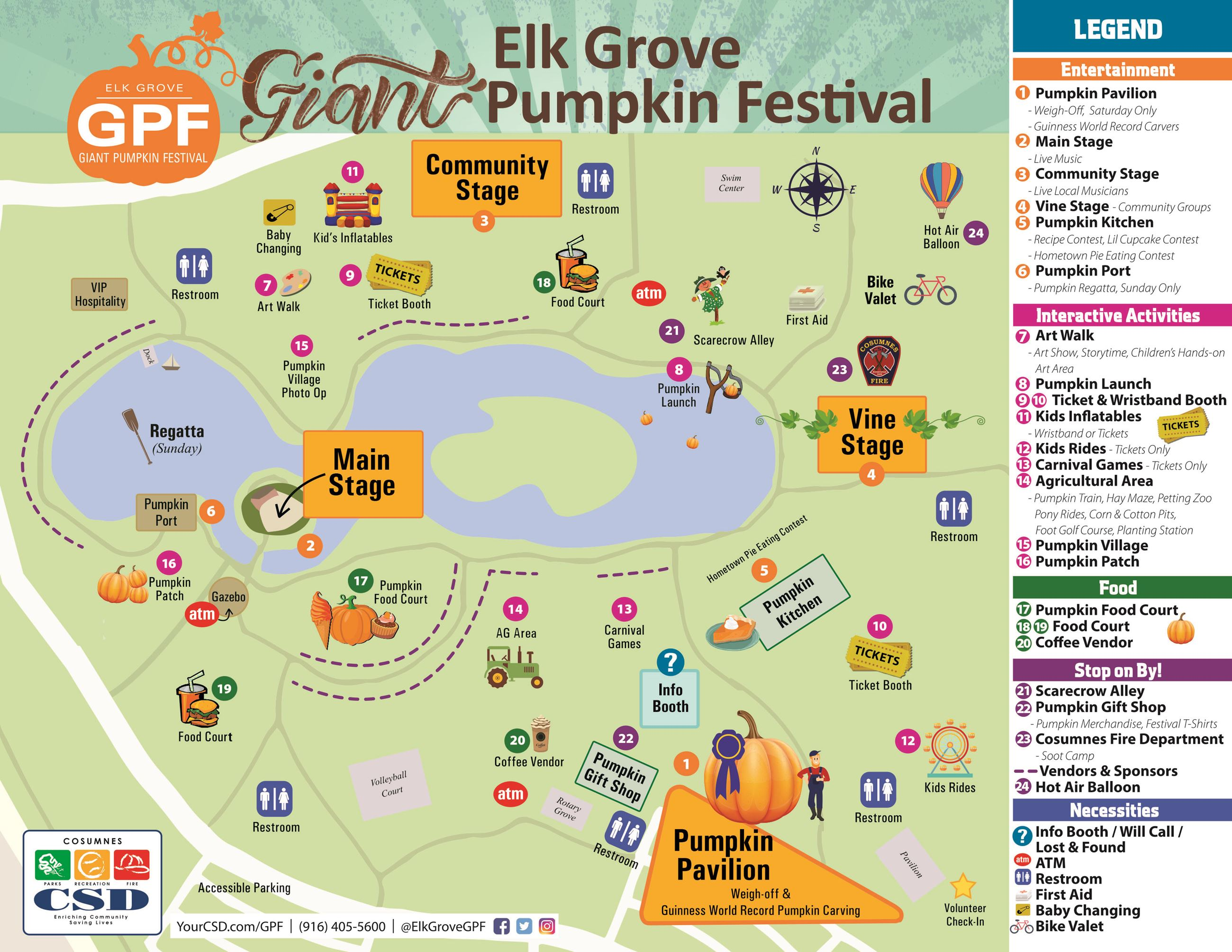 Pumpkin Festival Map