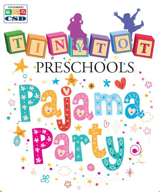 Preschool Pajama Party Logo