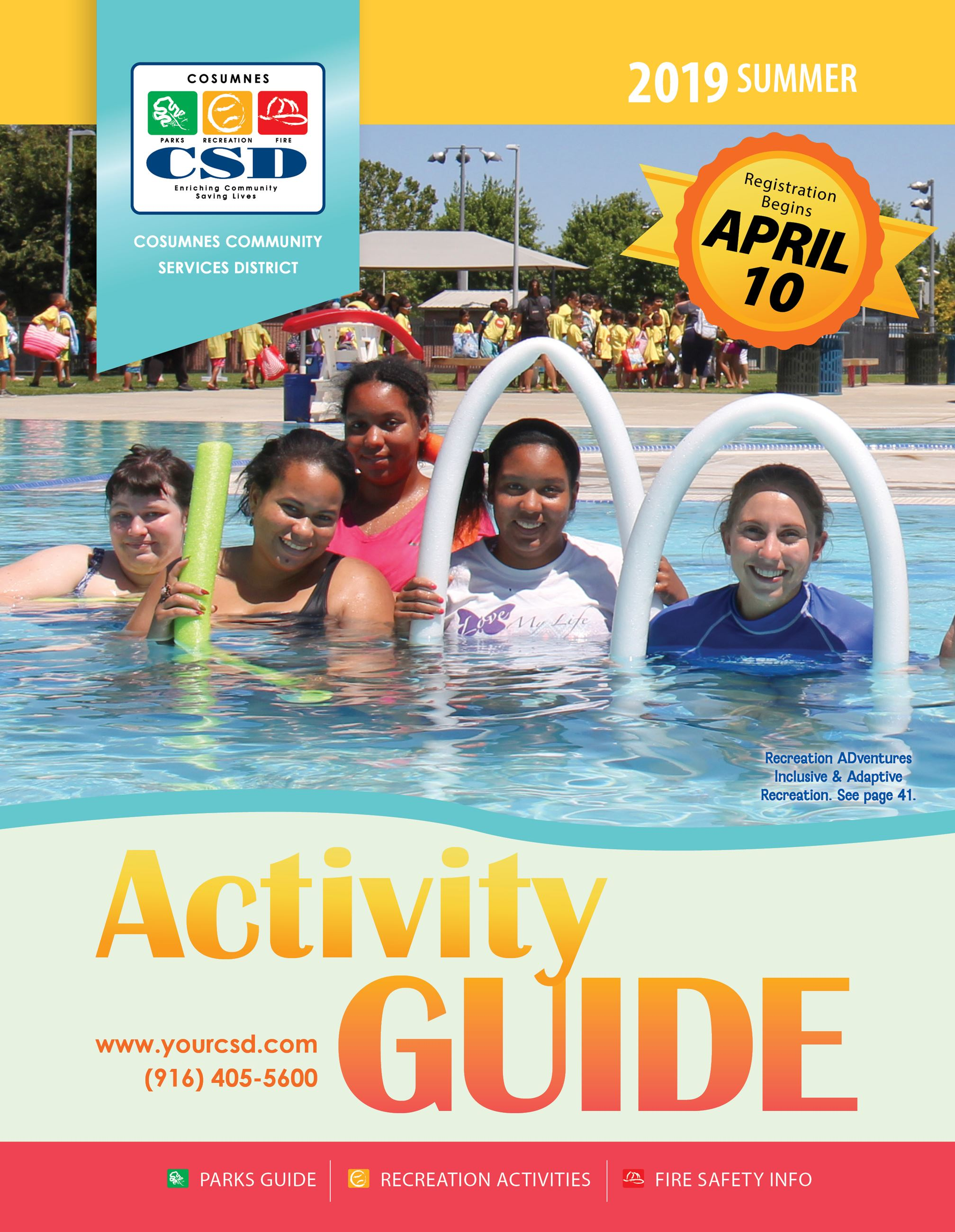 Summer 2019 Activity Guide Cover