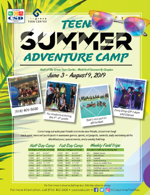 Teen Adventure Camp