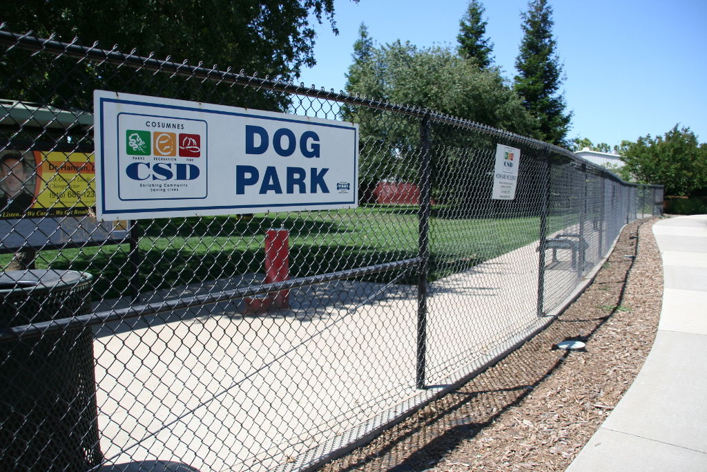 Laguna Community Dog Park Sign