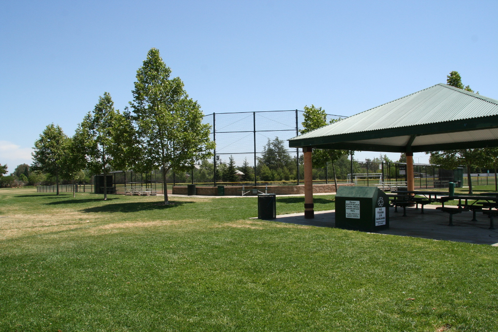 Ballfiled and Picnic Shelter